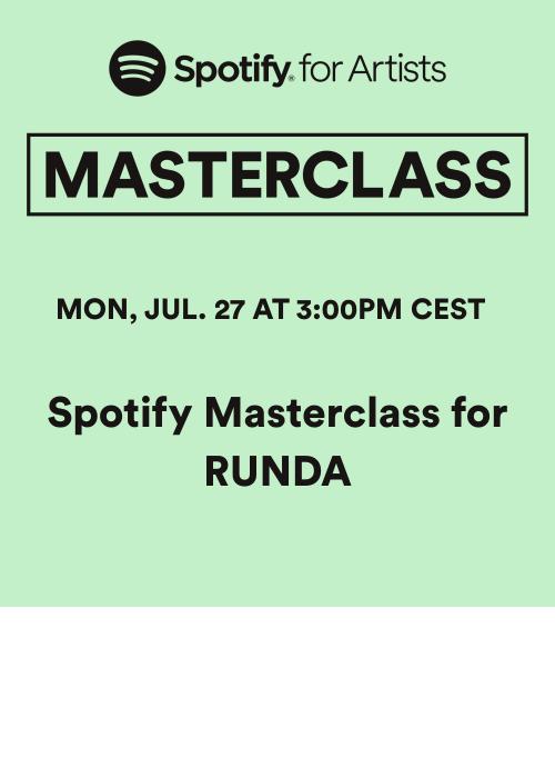 SpotifyMasterclassforRunda2